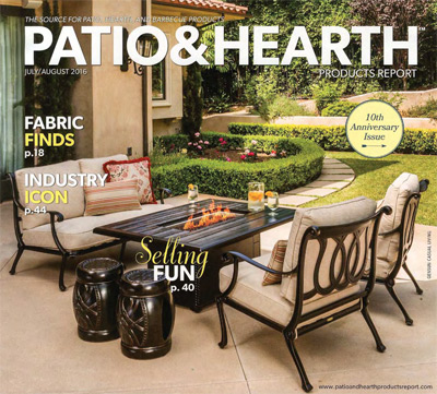 Patio Hearth Products Report Features Tempotest